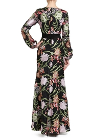 Badgley Mischka Crochet Lace Gown - Front full body