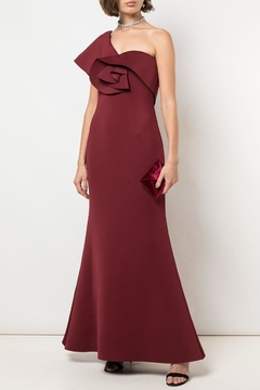 Badgley Mischka Fitted Evening Gown - Product List Image