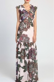 Badgley Mischka Floral Maxi Dress - Product Mini Image