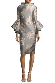 Badgley Mischka Floral Party Dress - Product Mini Image