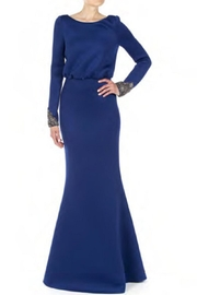 Badgley Mischka Long Sleeve Gown - Product Mini Image