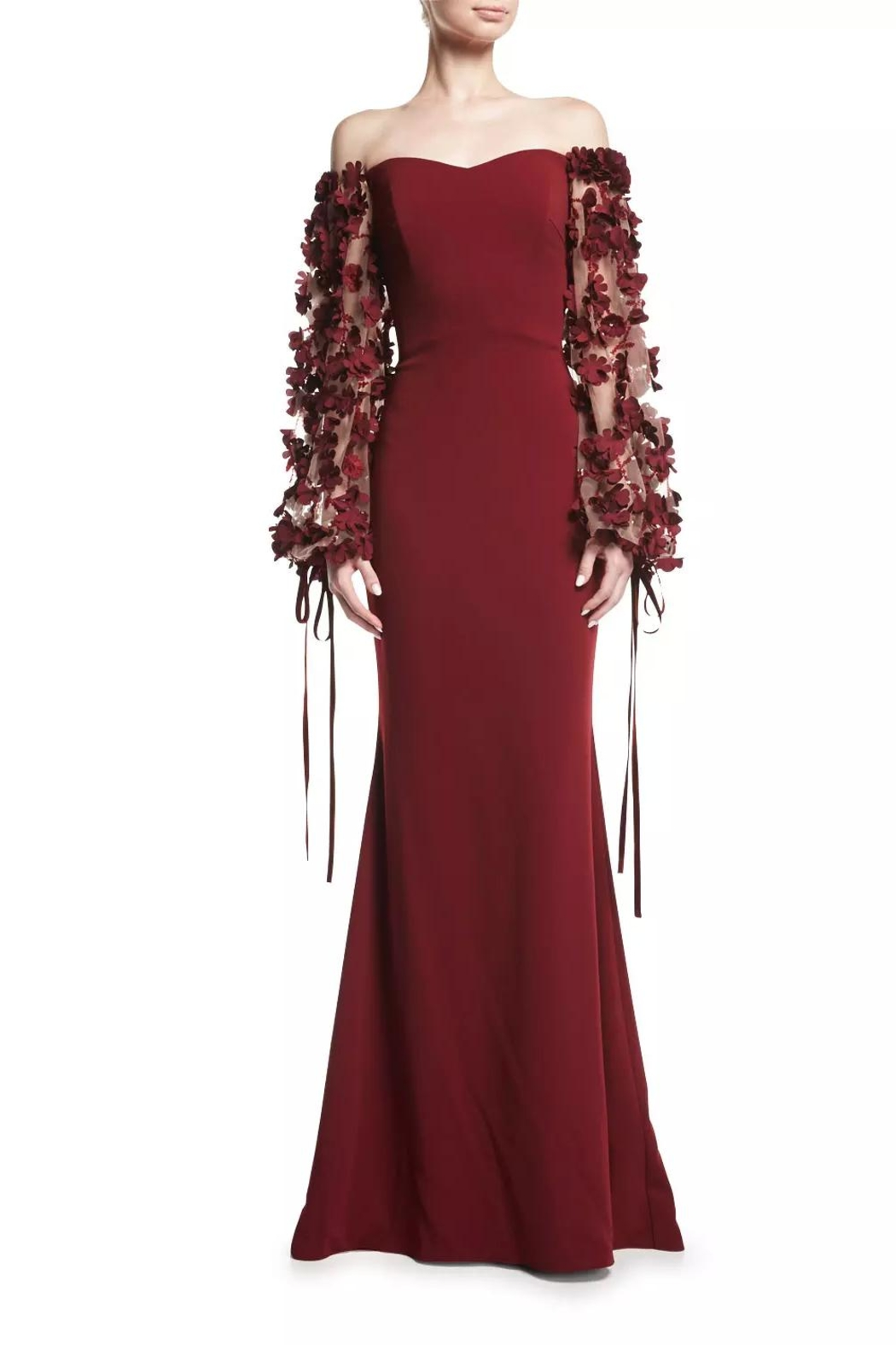 Badgley Mischka Odessa Gown - Front Cropped Image
