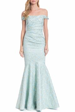 Badgley Mischka Off Shoulder Gown - Product List Image