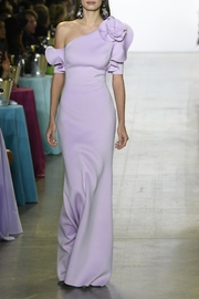 Badgley Mischka One Shoulder Gown - Product Mini Image