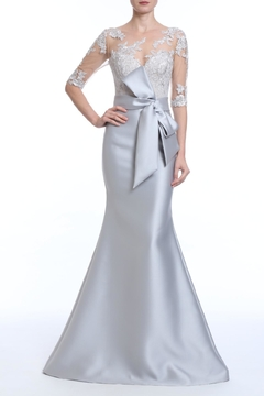 Badgley Mischka Sheer Illusion Gown - Product List Image