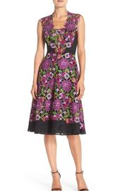 Badgley Mischka Sleeveless Lace Dress - Product Mini Image