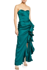 Badgley Mischka Strapless Mikado Gown - Product Mini Image