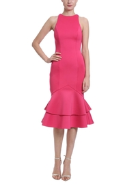 Badgley Mischka Two-Tiered Cocktail Dress - Product Mini Image