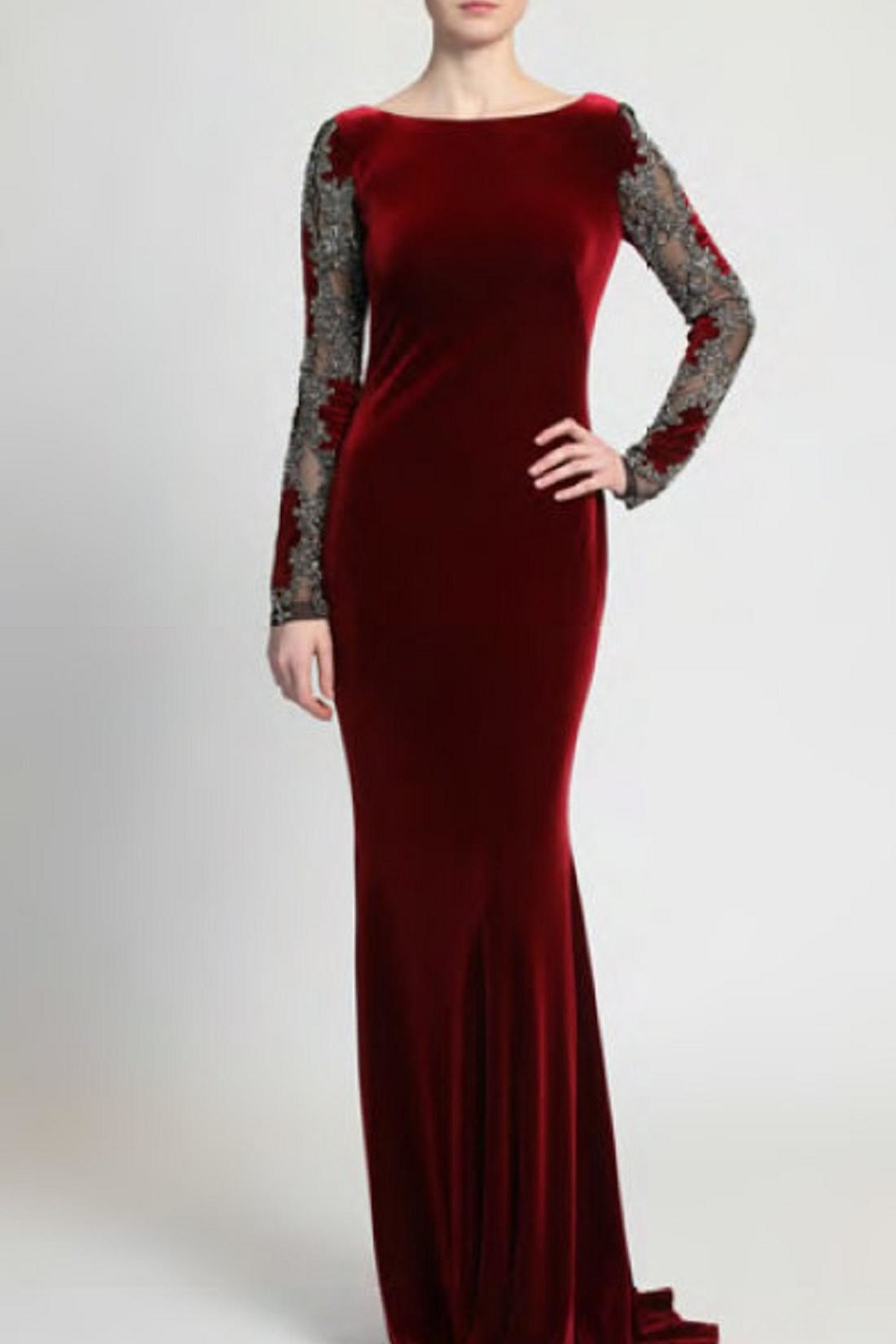 9edb55e2a2f7e Badgley Mischka Velvet Evening Gown from New Jersey by District 5 ...
