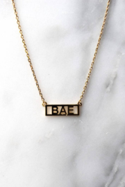 He Said, She Said BAE Necklace - Product Mini Image