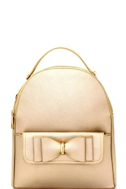Bag Boutique Bow Compartment Backpack - Product Mini Image