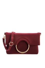 Bag Boutique Burgundy Handbag - Product Mini Image