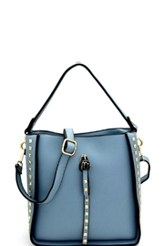 Bag Boutique Charm Studded Hobo - Product Mini Image