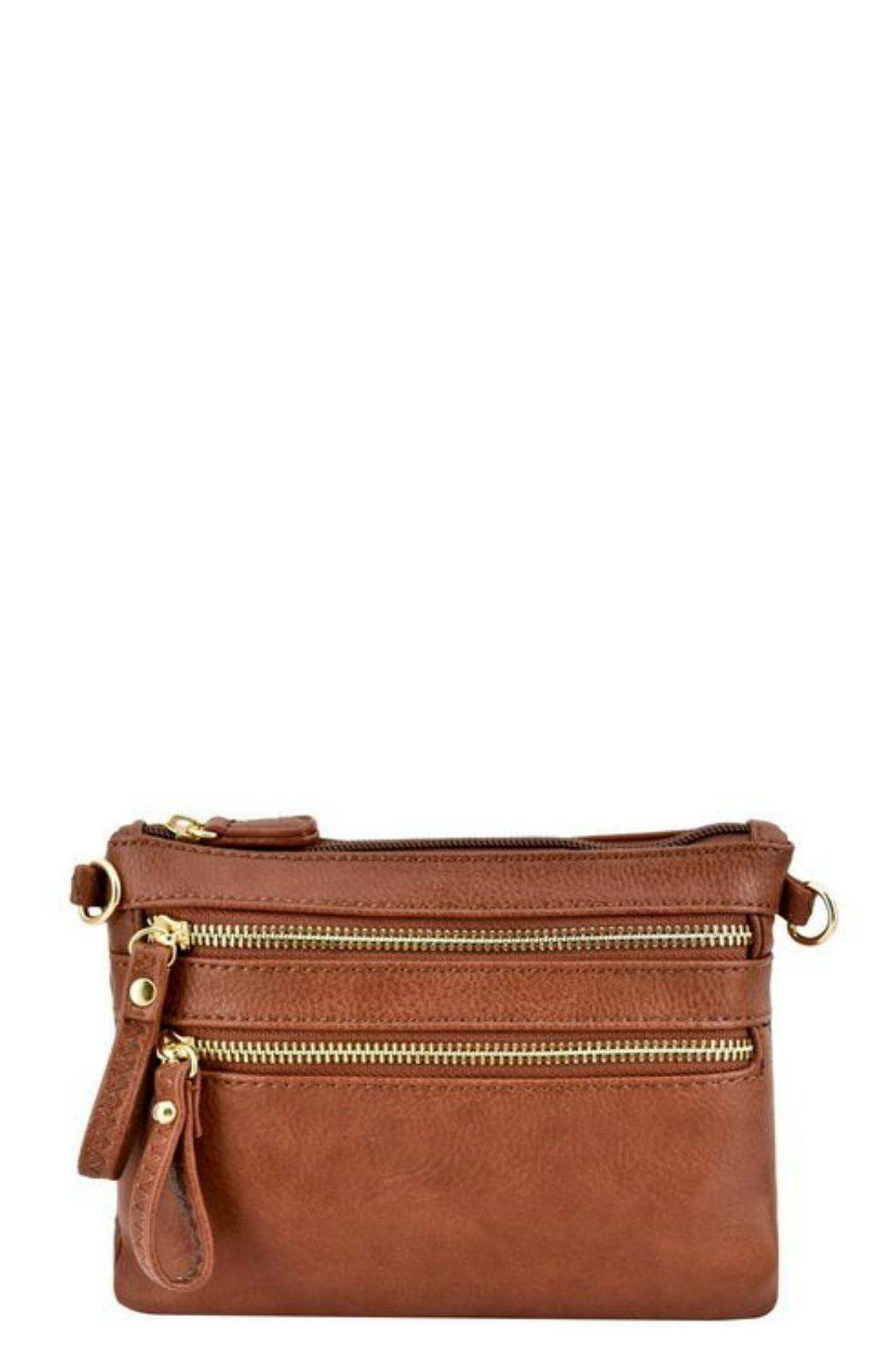 Bag Boutique Zipper Cross Body - Front Cropped Image