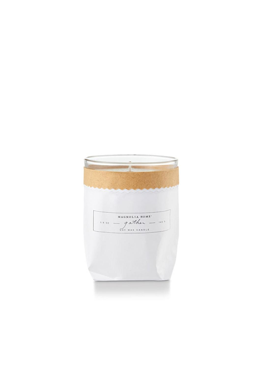 Magnolia Home Bagged Glass Candle - Front Cropped Image