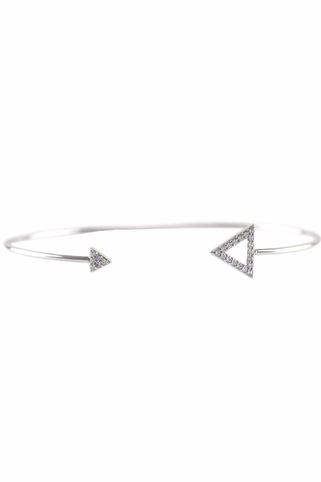 Baggis Accesorios Double Triangle Bracelet - Front Cropped Image