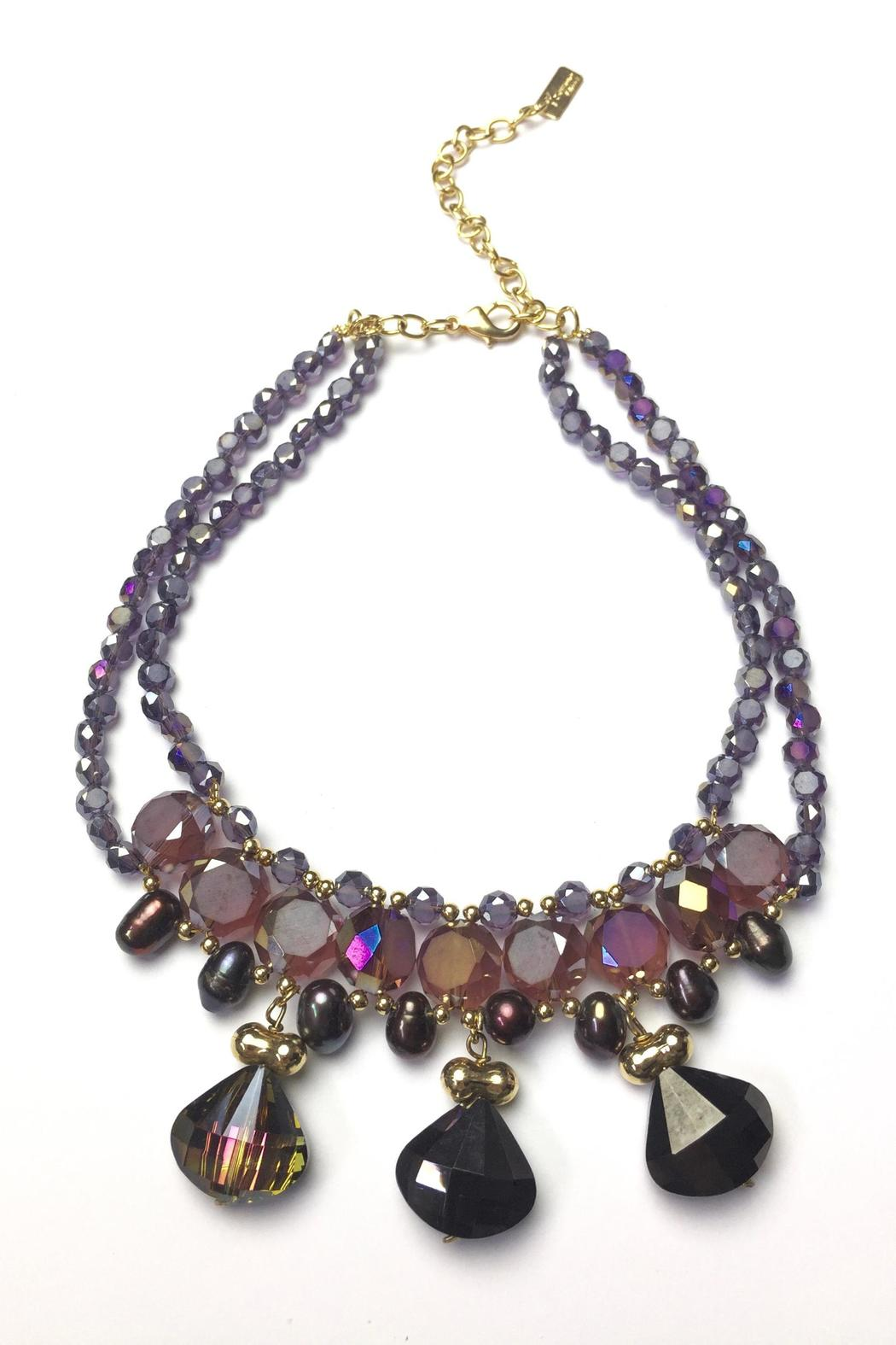 Baggis Accesorios Faceted Crystal Necklace - Main Image