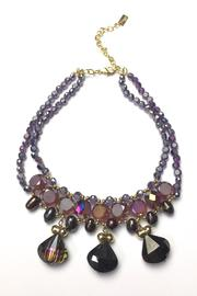Baggis Accesorios Faceted Crystal Necklace - Front cropped