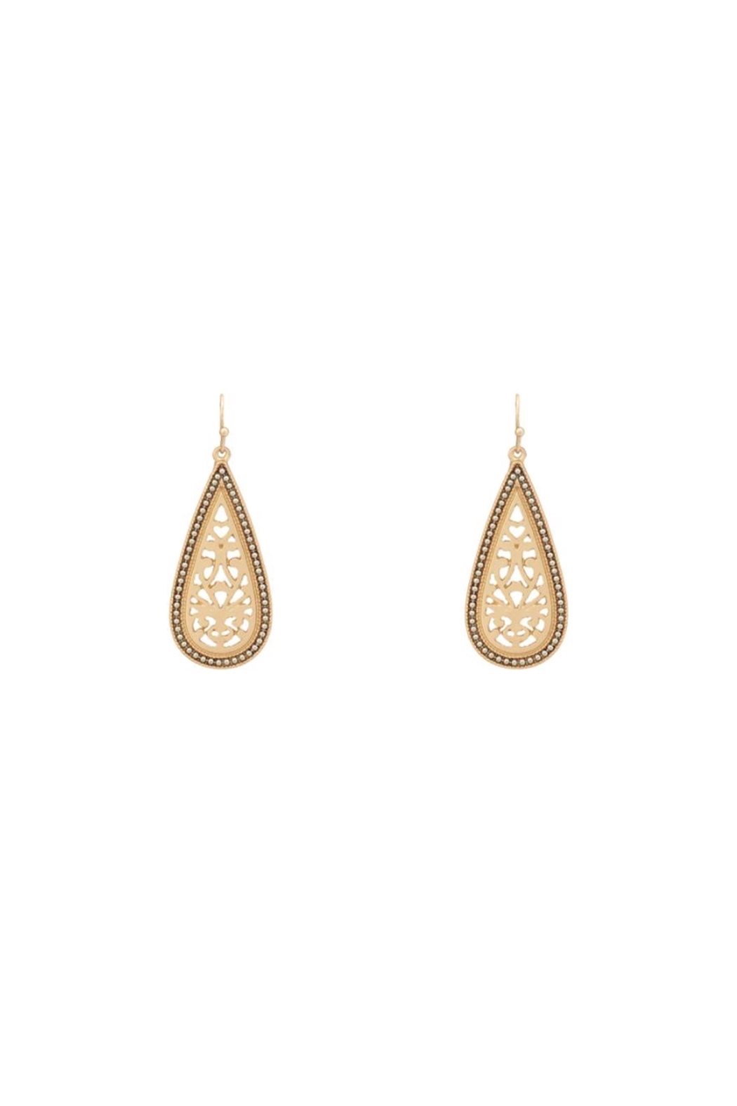 Baggis Accesorios Filigree Earrings - Front Cropped Image