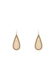 Baggis Accesorios Filigree Earrings - Front cropped