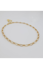Baggis Accesorios Link Chain Necklace - Front cropped