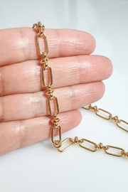 Baggis Accesorios Link Chain Necklace - Front full body