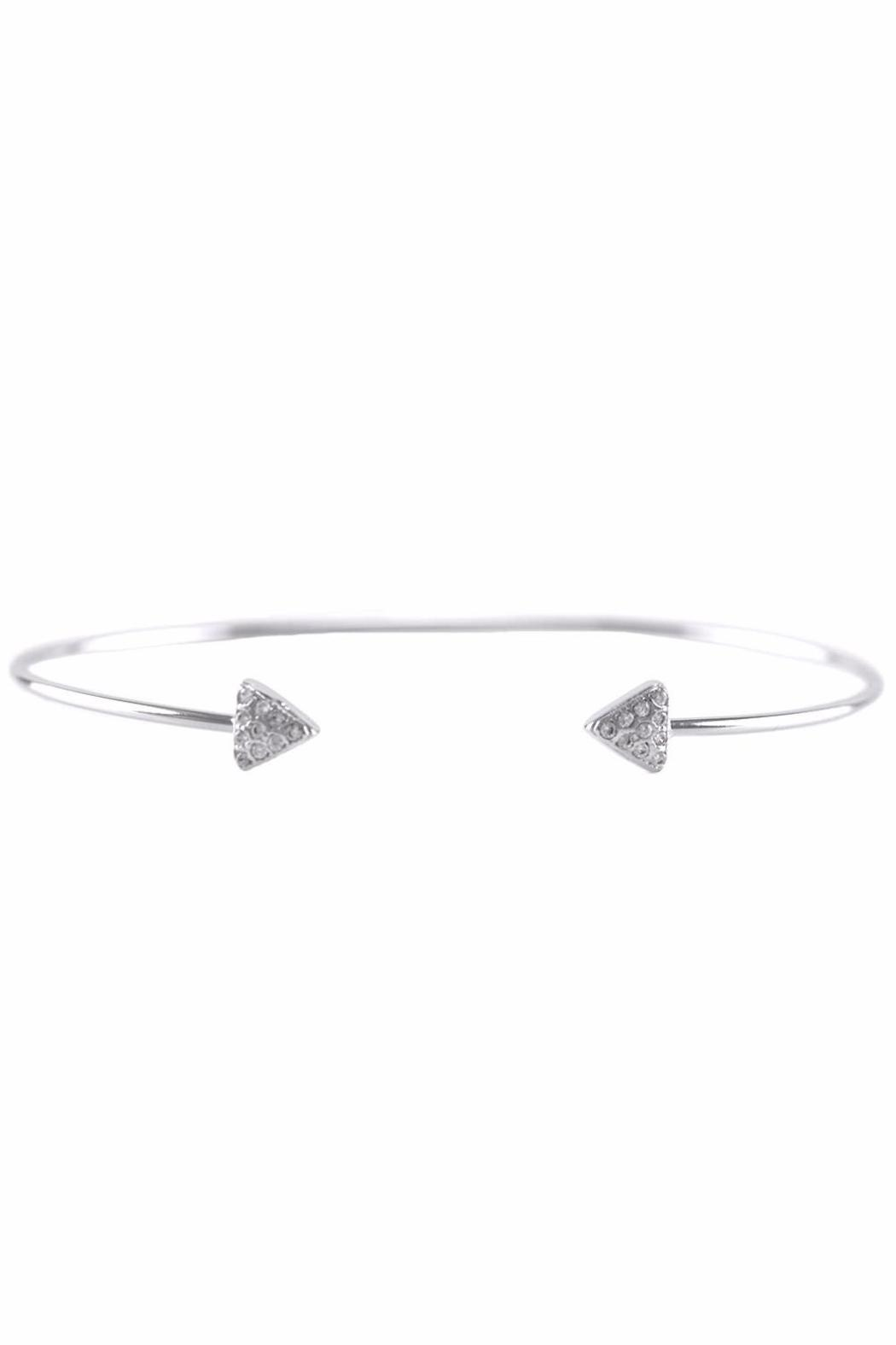 Baggis Accesorios Mini Triangle Bracelet - Front Cropped Image