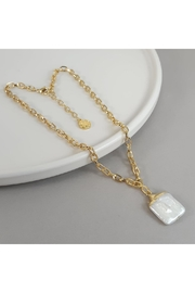 Baggis Accesorios Natural Pearl Necklace - Product Mini Image