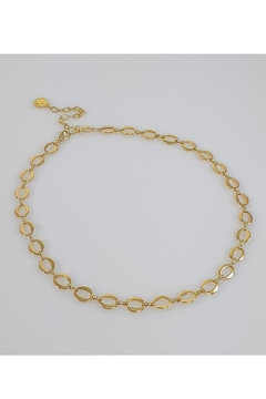 Baggis Accesorios Oval Chain Necklace - Product List Image