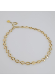 Baggis Accesorios Oval Chain Necklace - Product Mini Image