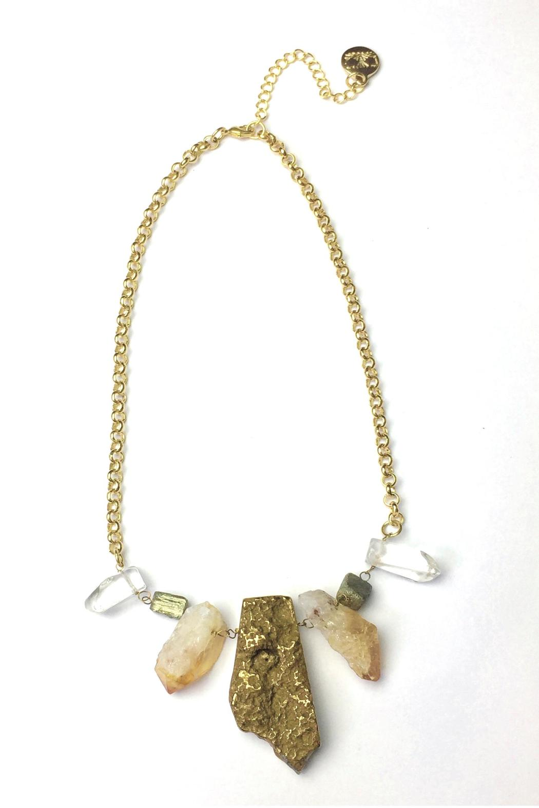 Baggis Accesorios Semiprecious Stone Necklace from ...