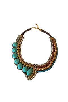Baggis Accesorios Turquoise Necklace - Alternate List Image