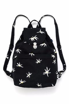 Shoptiques Product: Black Daisy Backpack