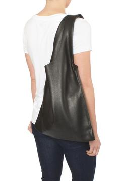 Shoptiques Product: Black Leather Tote