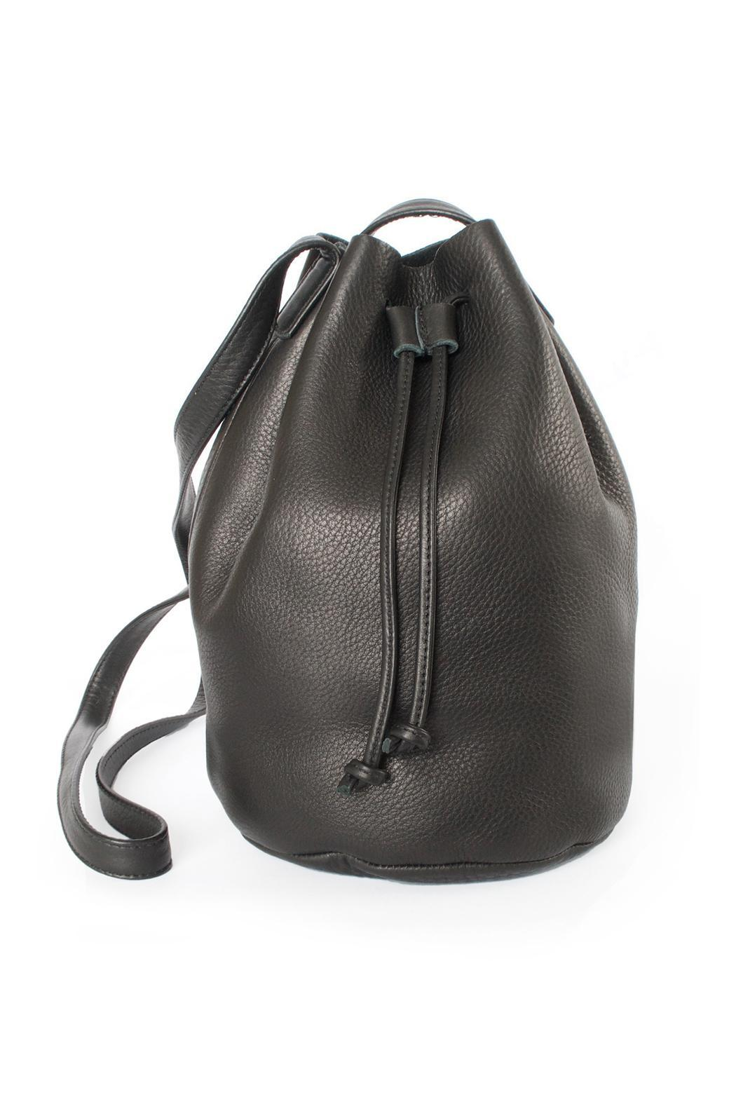 Baggu Leather Bucket Bag From Portland By Vintalier