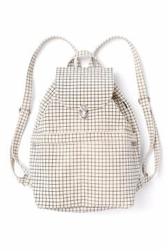 Shoptiques Product: Natural Grid Backpack