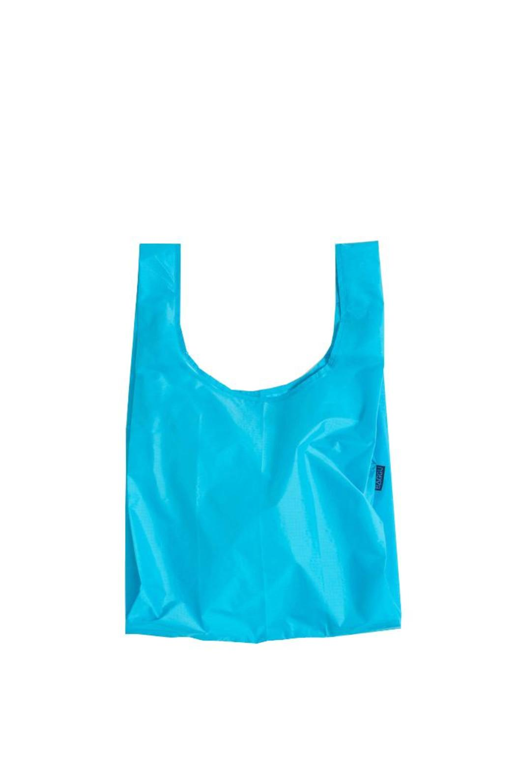 Baggu Reusable Blue Tote - Front Cropped Image