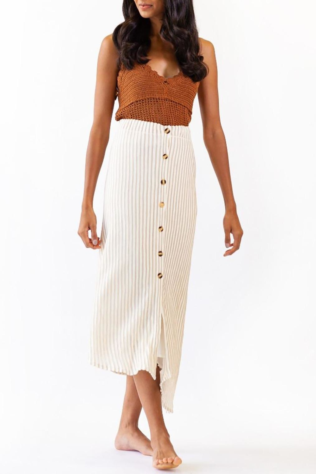 Pink Martini Collection Bahama Skirt - Back Cropped Image