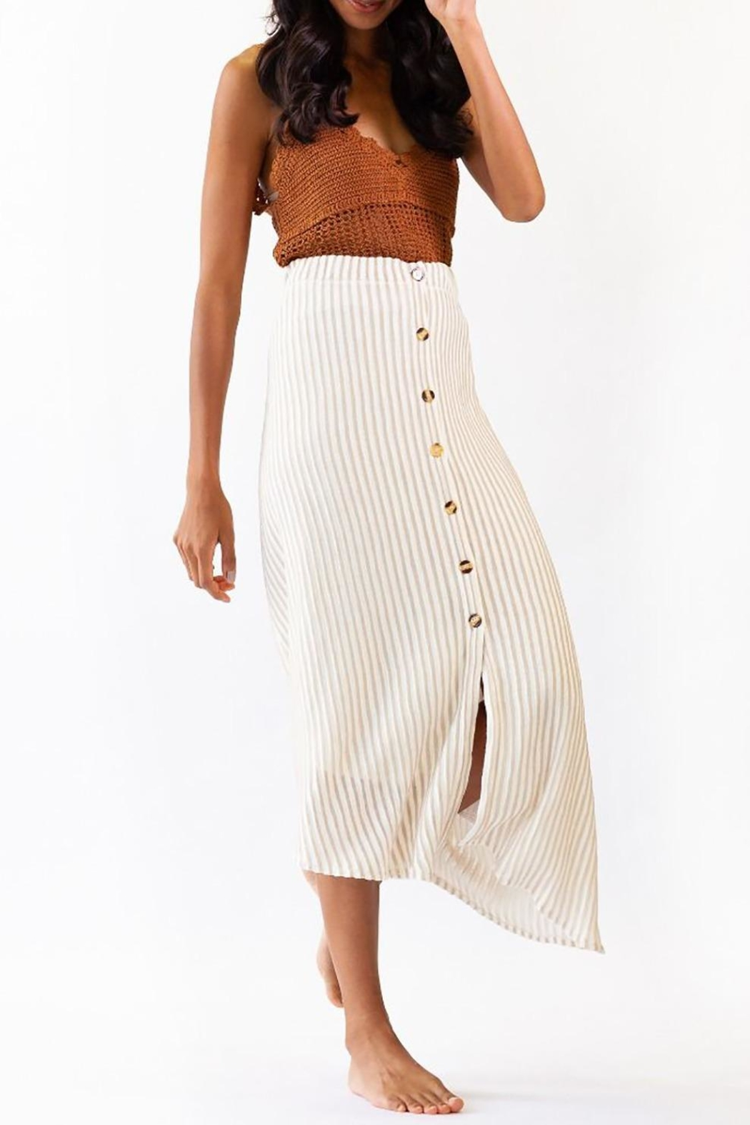 Pink Martini Collection Bahama Skirt - Side Cropped Image