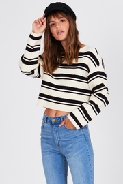 AMUSE SOCIETY Bahia Sweater - Front cropped