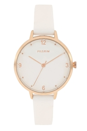 Pilgrim Baia White Watch - Product Mini Image