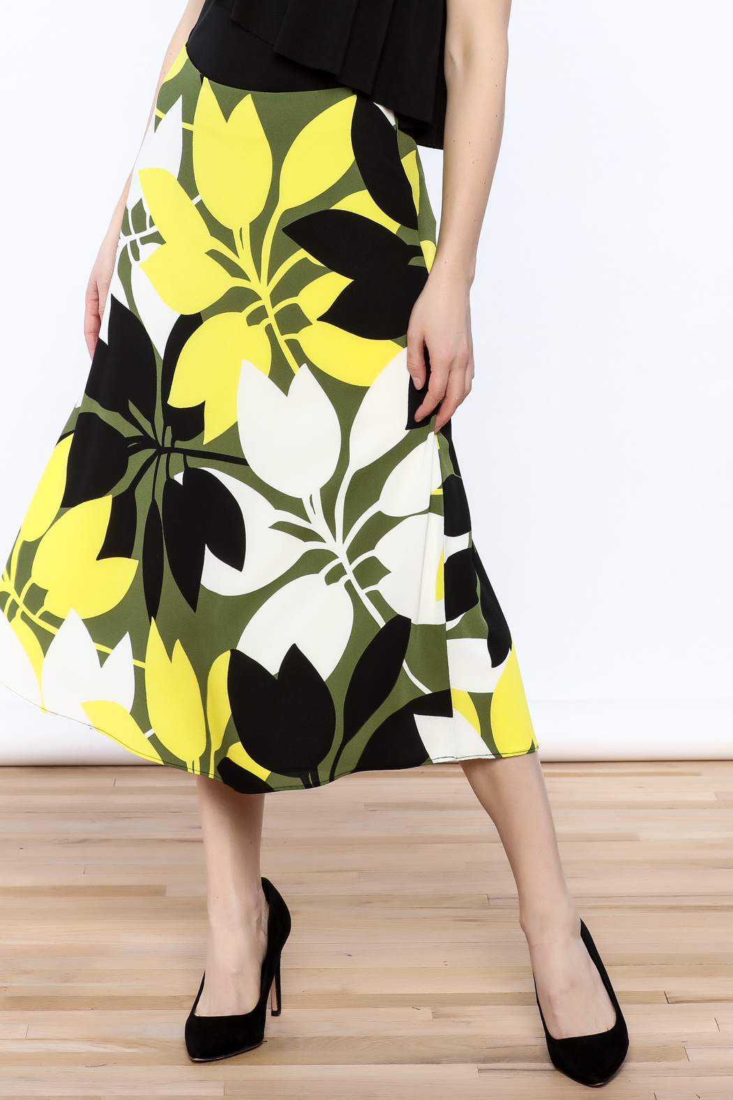 Bailey 44 A-Line Midi Skirt - Front Cropped Image