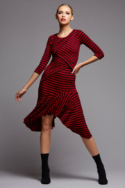 Bailey 44 Andrea Stripe Dress - Front cropped