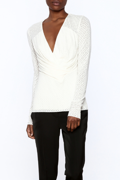 Shoptiques Product: Beige Fitted Top