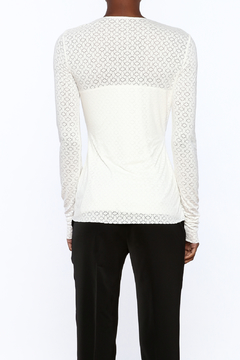 Bailey 44 Beige Fitted Top - Alternate List Image