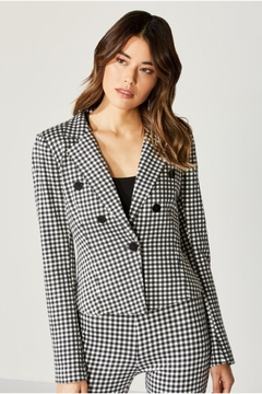 Shoptiques Product: Bailey Checkered Jacket