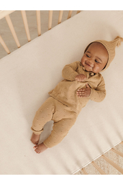 Quincy Mae Bailey Knit Sweeater Set - Honey - Product Mini Image