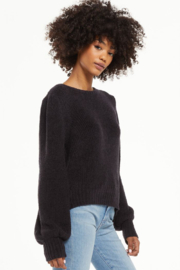 z supply  Bailey Puff Sleeve Sweater - Front full body