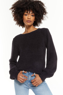 Shoptiques Product: Bailey Puff Sleeve Sweater