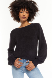 z supply  Bailey Puff Sleeve Sweater - Front cropped